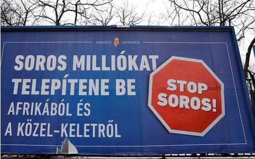 Are Ukrainians afraid of George Soros one year before the elections