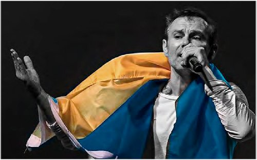 Vakarchuk: vacations with a flavor of elections